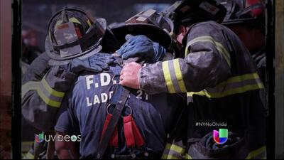 Bomberos que sobrevivieron el 9/11 cuentan dramática historia