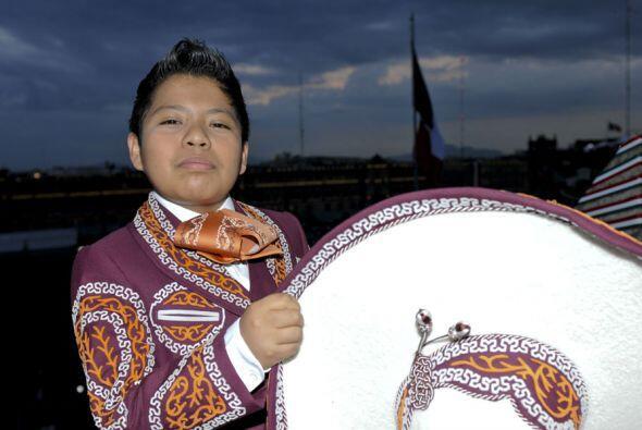 Miguel Ángel dijo que está orgulloso de las tradiciones mexicanas.