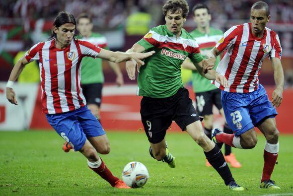 Fernando Llorente no tuvo muchas situaciones de gol y eso afectó al conj...