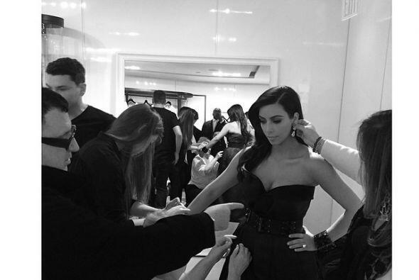 Así estuvo la semana para Kim Kardashian. Movida, ¿no cree...