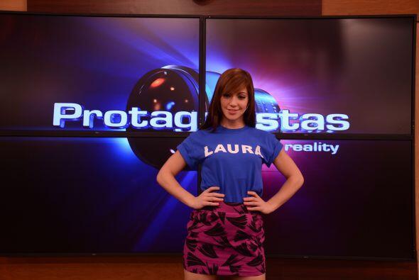 Laura está dispuesta a representar a la juventud de Latinoamérica. Dice...