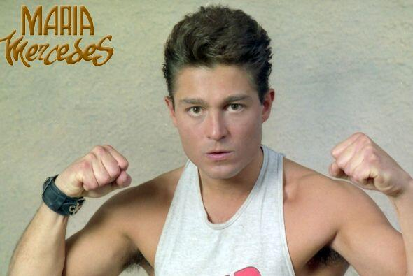 "¿Se acuerdan de Fernando Colunga en ""María Mercedes""? Interpretaba a ""Ch..."