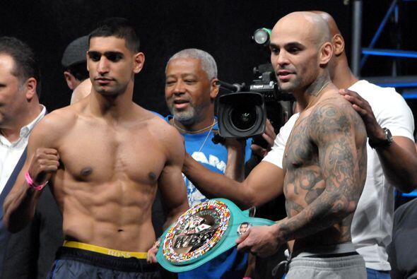 Amir Khan y Luis Collazo se enfrentarán por el cinturón plata welter del...