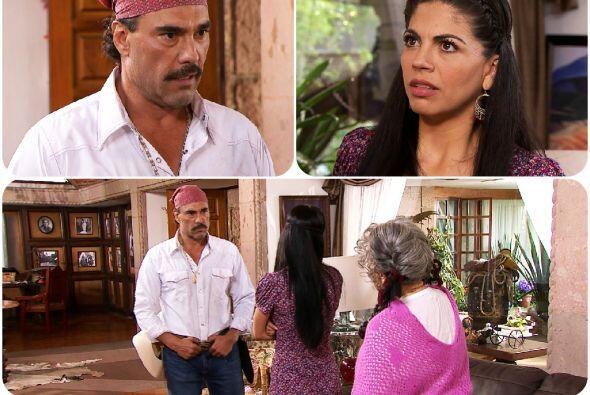 ¡Agárrate Facundo! Ya viste cómo se puso María al defender a su familia.