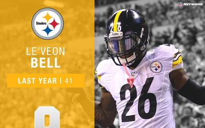 #9: Le'Veon Bell (RB, Steelers) | Top 100 Jugadores 2017