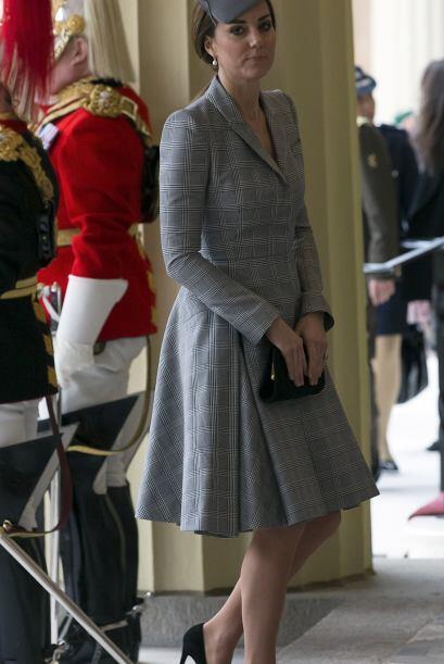 Tras anunciar su segundo embarazo, la duquesa no se había presentado en...