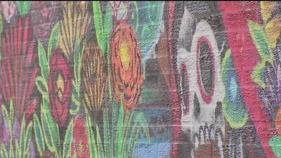 Exhibirán en Chicago un mural que plasma de la tradición del Día de los Muertos