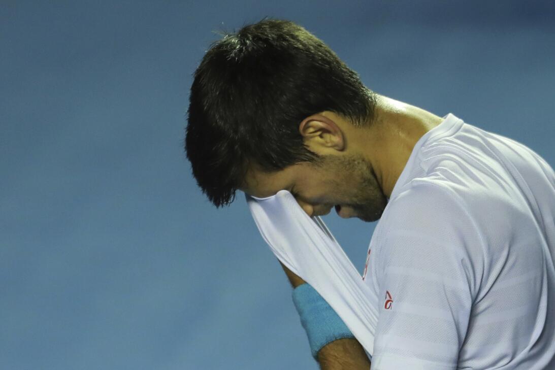 Novak Djokovic y Rafael Nadal, ídolos del público en primeros entrenamie...