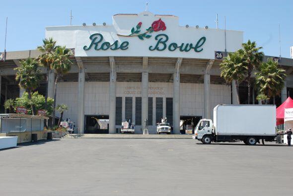 Los Angeles comenzó a vivir la fiesta que representa la Final de la Copa...