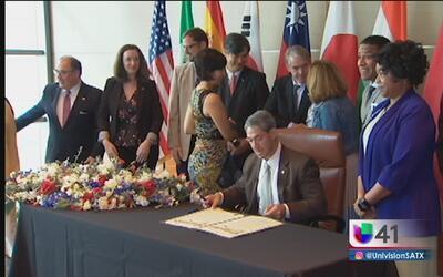 San Antonio continuará apoyando el Acuerdo de París