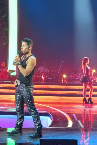 Fernando y Ana Cristina tuvieron un dueto espectacular.