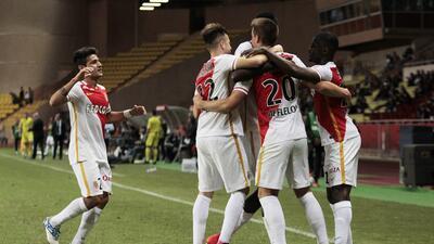 Mónaco y Marsella ganan en el cierre de la jornada 12 de la Ligue 1