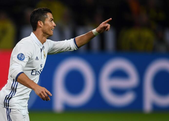 Temporada 2016/2017 - Cristiano Ronaldo (Real Madrid C.F.) con 16 goles.