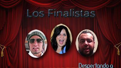 Ellos son los tres finalistas de 'Despertando a Carcajadas'