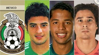 Así han cambiado Ochoa, 'Chicharito', Oribe y más jugadores del Tri entre Mundial y Mundial