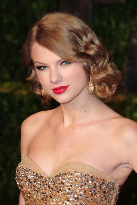 Así lució Tay en la fiesta de la revista Vanity Fair en 2011.