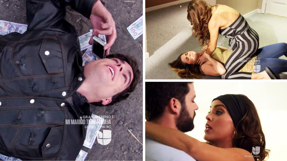Laura, Ryan, Danilo, Estela y todos los personajes de 'La doble vida de...