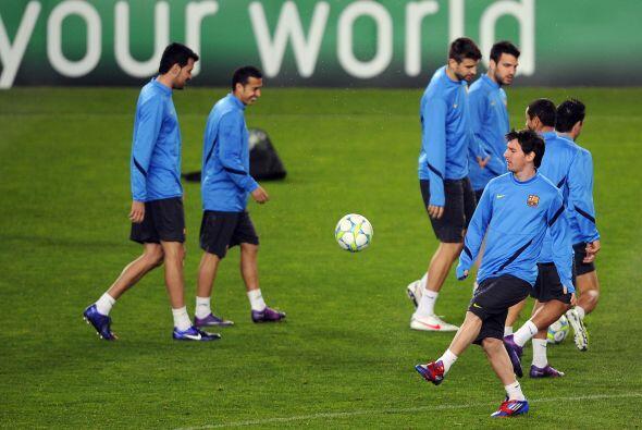 Lionel Messi jugará el partido después de haber descansado...