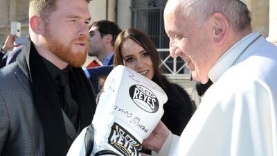 'Canelo' y el Papa