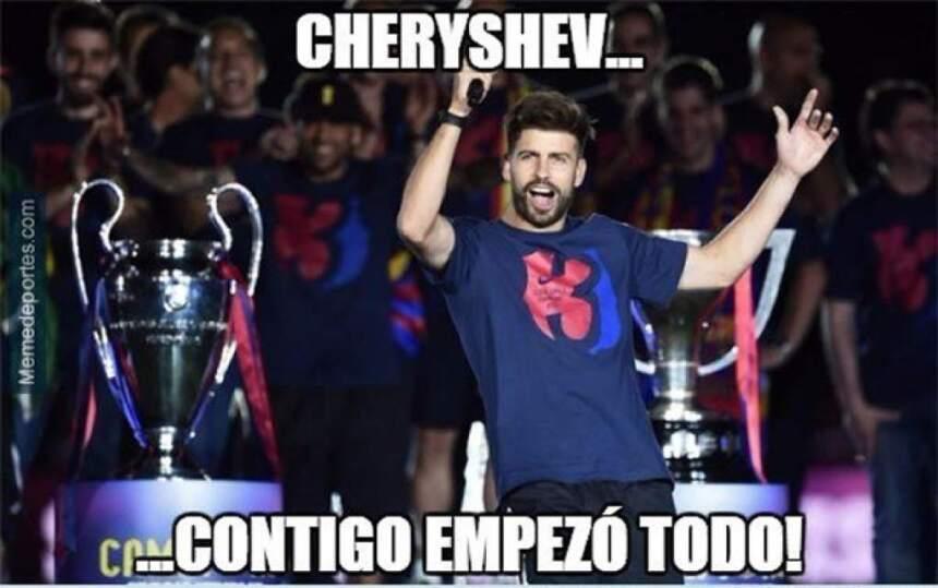Cheryshev estaba sancionado por acumulación de amonestaciones, Real Madr...