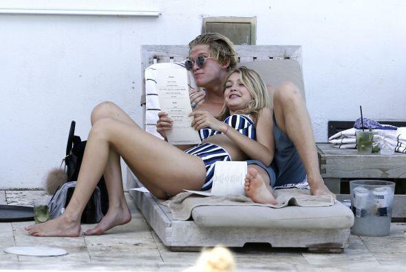 Gigi Hadid y Cody Simpson en Miami.
