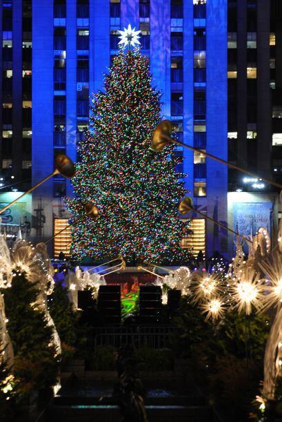 El árbol de Rockerfeller Center es una tradición neoyorquina que da inic...