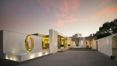 La mansión más cara de Beverly Hills a la venta