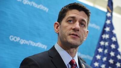 Republicano Ryan oficializa su candidatura a la presidencia de la Cámara...