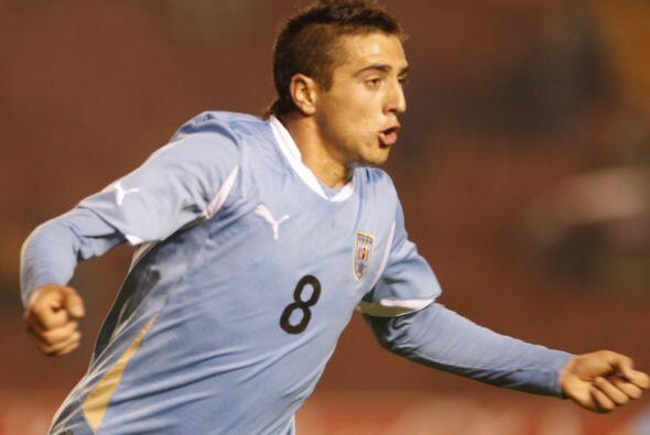 El autor del único gol uruguayo fue Matías Vecino (65 minu...