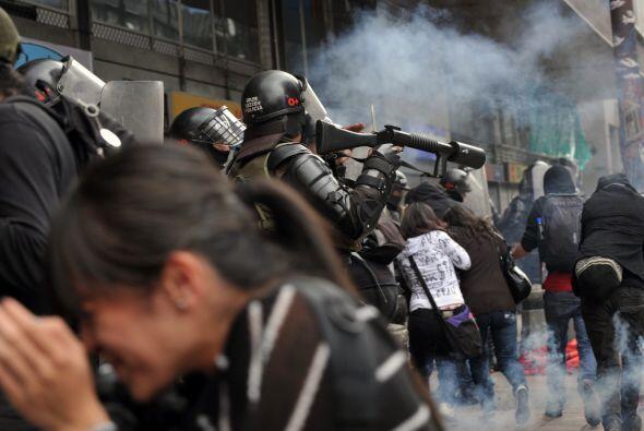 """Flórez detalló que la """"Marcha Nacional de los Indigna..."""