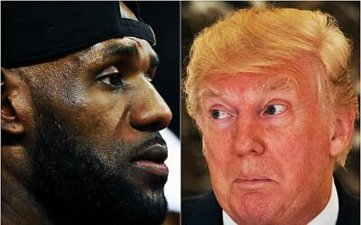 LeBron James critica la respuesta de Donald Trump.