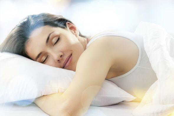 Deberás sentirte tranquila y en armonía con tu cuerpo, trata de descansa...