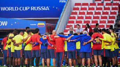 En fotos: Colombia alistó sus armas para sorprender a Inglaterra