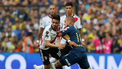 En fotos: intensidad del empate de Boca y River en una final de Libertadores en suspenso