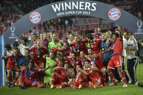El Bayerb de Múnich se procalmó ganador de la Súper...