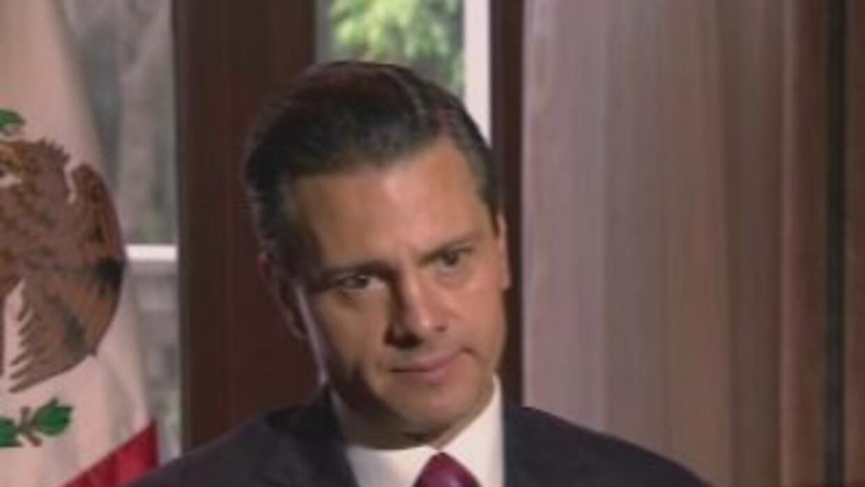 En febrero de 2014 Peña Nieto aseguró que sería imperdonable su escape
