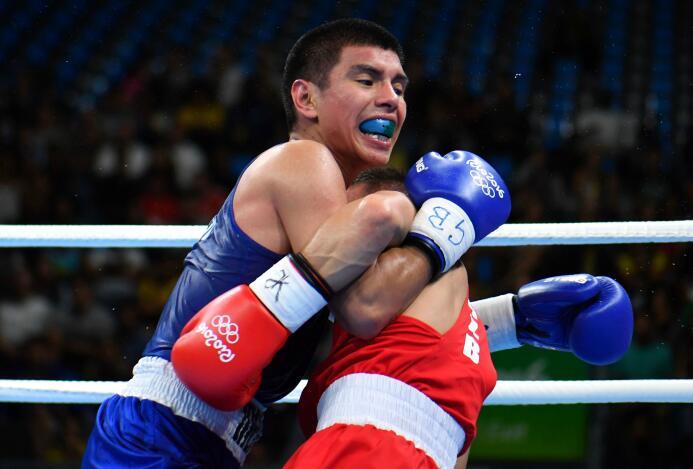 El boxeador mexicano Joselito Velázquez quedó eliminado de Rio 2016.