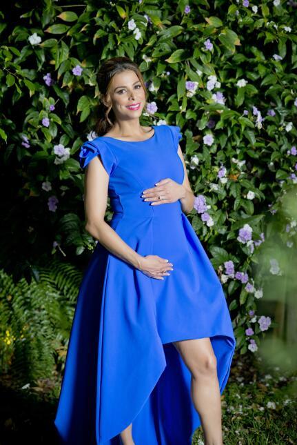 ¡Es niño! Lourdes Stephen anunció el sexo y nombre de su bebé