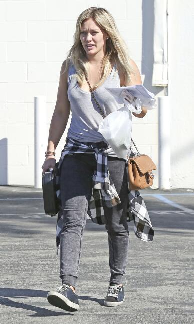 Hilary Duff está 'armada y peligrosa'.