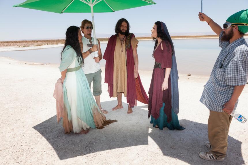 José de Egipto, las mejores fotos detrás de cámaras | José de Egipto 201...