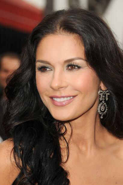Catherine Zeta-Jones, una de las actrices despampanantes de Hollywood, e...