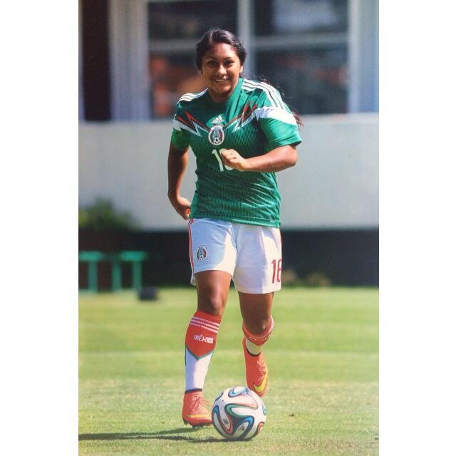 Jugó para la selección femenil Sub20 de México.