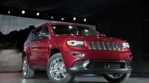 La Jeep Grand Cherokee 2014 equipada con el motor EcoDiesel 3.0 señalado...