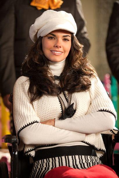Livia Brito es Fernanda, hija de Victoria y Osvaldo. A veces es un poco...