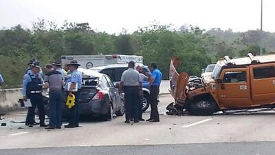 Fotos del accidente que cobró la vida de Andrés 'Corky'Ortíz y su hijo