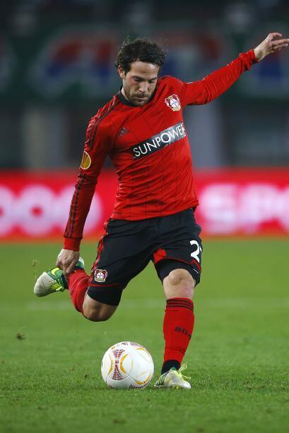 El jugador del Bayer Leverkusen dio un buen juego ante el Fortuna Düssel...