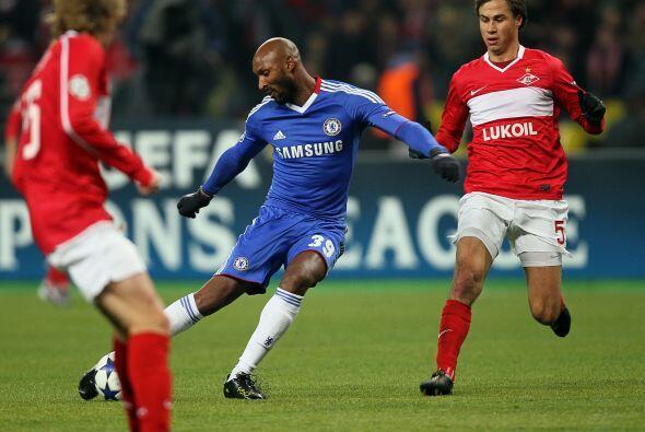 En suelo ruso, el Chelsea visitó al Spartak, con quien peleaba el lidera...