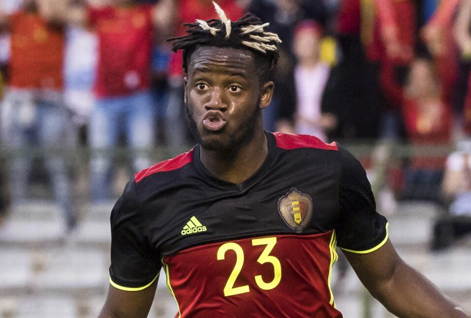 El belga Michy Batshuayi, revelación en el final de temporada con Chelse...
