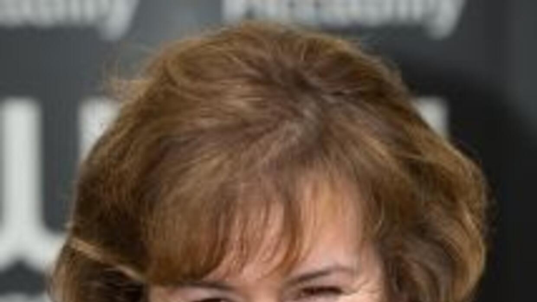 Salida de un concurso de talento, Susan Boyle lleva en su haber dos prod...