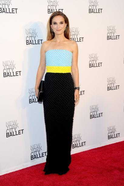 A Natalie Portman la vimos con un vestido tan original y juvenil que se...